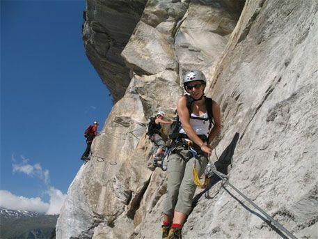 Klettersteig Zermatt : Klettersteige